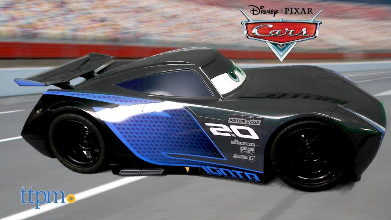 disney cars jackson storm large car from mattel youtube. Black Bedroom Furniture Sets. Home Design Ideas