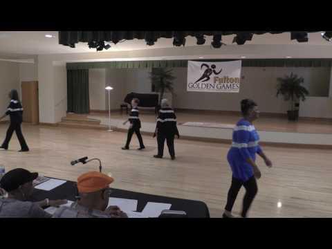Fulton County Golden Games 2017 Line Dance Contest 5.10.2017