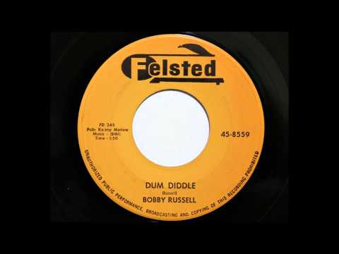 Bobby Russell - Dum Diddle (Felsted 8559) [1959 rockabilly]