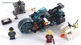 LEGO Ultra Agents Invizable Gold Getaway review! set 70167