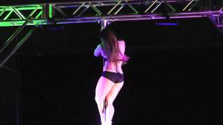 The Great MidWest Pole Dance Competition and Convention - Annemarie Davies Performance