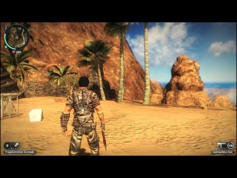 Intel HD 3000:Just Cause 2 Gameplay |