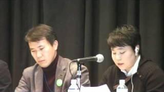 110227_キム・スヒョンさんスピーチ.wmv