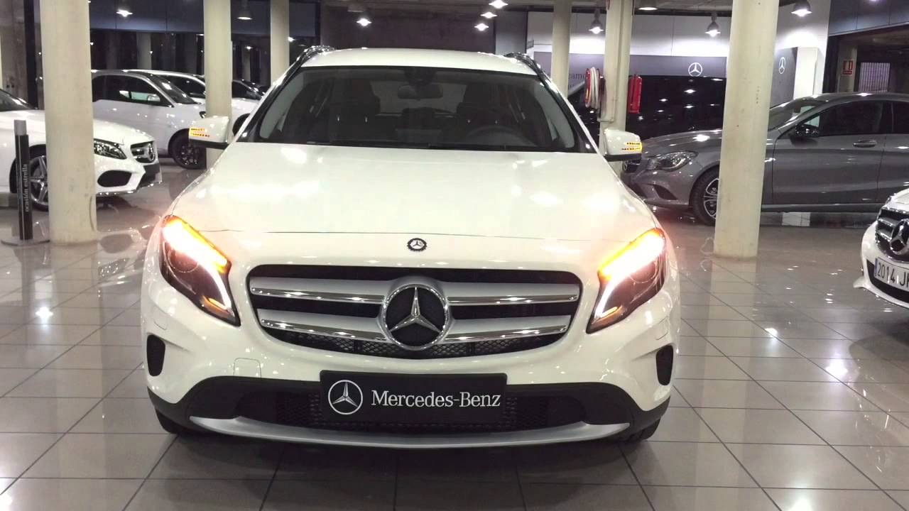 mercedes benz vegar gla 200d style blanco cirro youtube. Black Bedroom Furniture Sets. Home Design Ideas