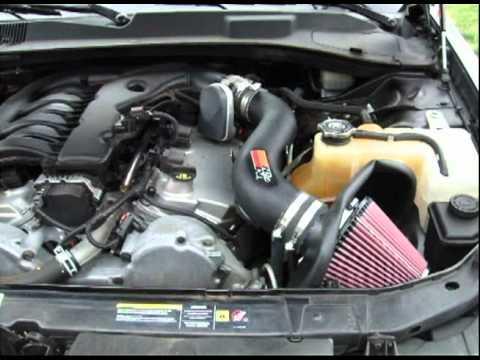 Chrysler 300 Touring 35 V6 K&N Cold Air Intake  YouTube