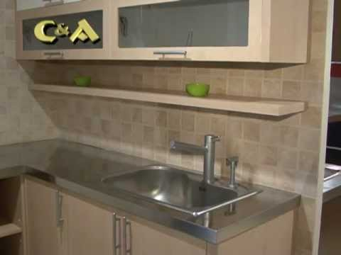 Muebles de cocina johnson youtube for Cocinas johnson
