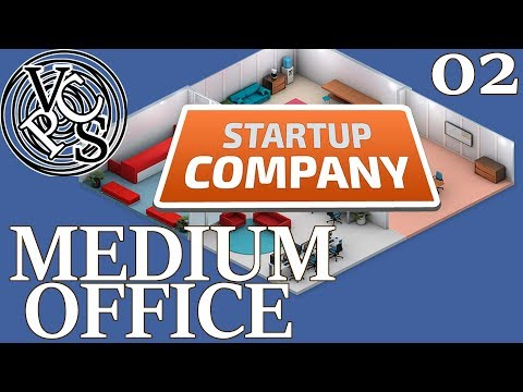 Medium Office : Let's Play Startup Company EP02 - Beta 12 Software Developer Tycoon Gameplay