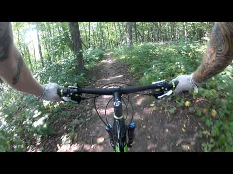 Blue Mounds State Park Single Track