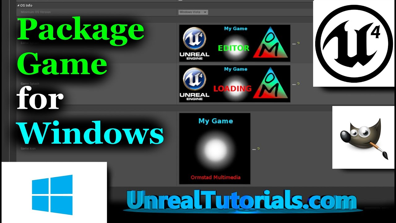 Unreal Engine 4 Tutorial | Package Game for Windows