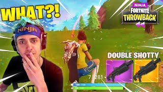 DOUBLE HEAVY SHOTGUN WASN'T ENOUGH TO STOP THIS! - FORTNITE THROWBACK