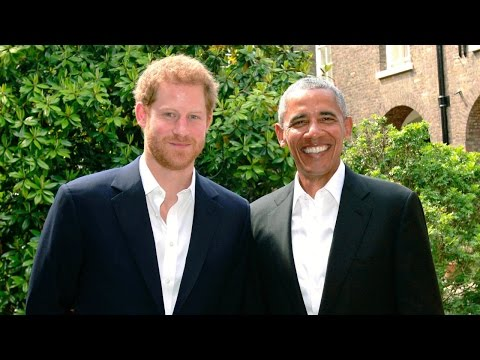 Prince Harry Reunites With Former President Barack Obama to Discuss Manchester Bombing