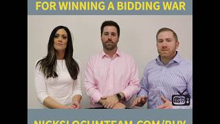 3 Tips to Winning a Bidding War