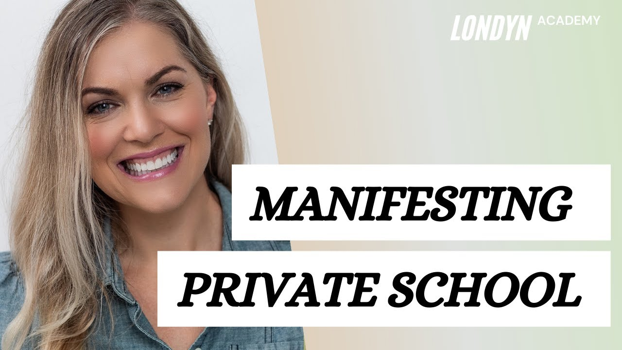 Do you manifest? How I Got BACK Into Private School
