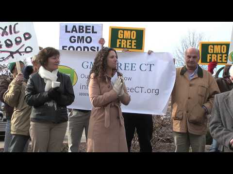 GMO Free CT Rally - Minuteman Park, Hartford, CT