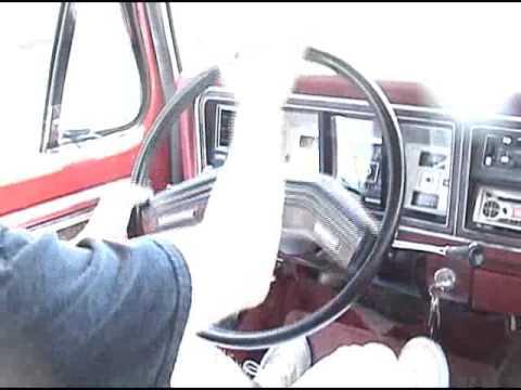 1979 Ford Bronco Ranger XLT Startup Drive
