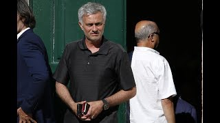 Manchester United boss Jose Mourinho arrives in Portugal ahead of tragic dad Felix's funeral