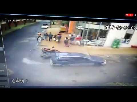 Ayudó a frustrar asalto haciendo que los delincuentes choquen