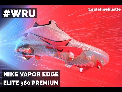 The designer of the new Nike Vapor Edge Elite 360 Premium cleats tells all!