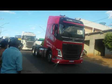 Passeata de caminhão em malhada de pedras-BA