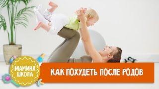 Как похудеть после родов. Консультация физиотерапевта