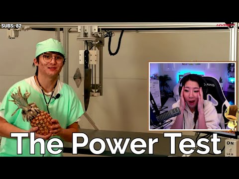 fuslie reacts to I Built A Surgery Robot by michael reeves