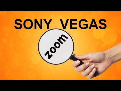 Как приблизить видео в Sony Vegas. Функция ZOOM. Панорамирование. Уроки видеомонтажа Сони Вегас