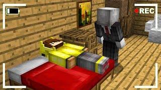 SLENDERMAN BEN UYURKEN SALDIRIYOR! 😱 - Minecraft