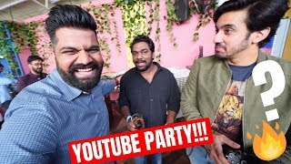 TRIED BRIBING ZAKIR KHAN AT YOUTUBE PARTY🔥🔥🔥
