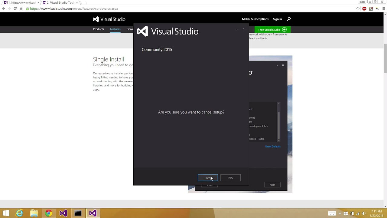 Visual Studio Tools for Apache Cordova | The Ionic Blog