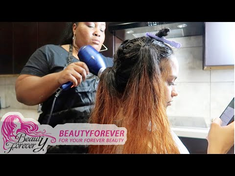 DYING MY HAIR!? Ft Beauty Forever Hair