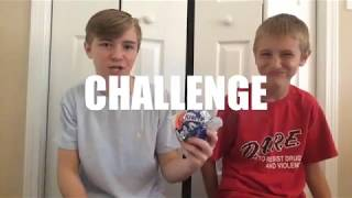 CHUBBY BUNNY CHALLENGE!! - its just luke (Deleted Video)