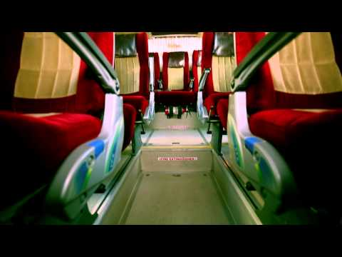 Volvo Bus onboard passenger safety presentation