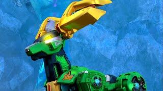 Металионы  Metalions – Копаясь в прошлом – мультфильм роботы - трансформеры