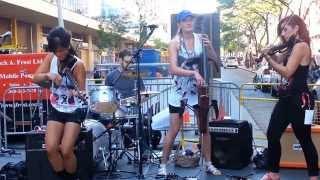 Devah Quartet at Toronto Busker Festival