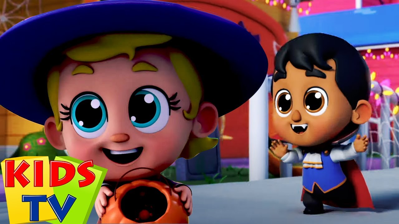 Ini malam Halloween | Lagu anak anak | Bayi sajak | Kids Tv Indonesia | Video edukasi