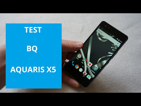 test BQ Aquaris X5 smartphone Android