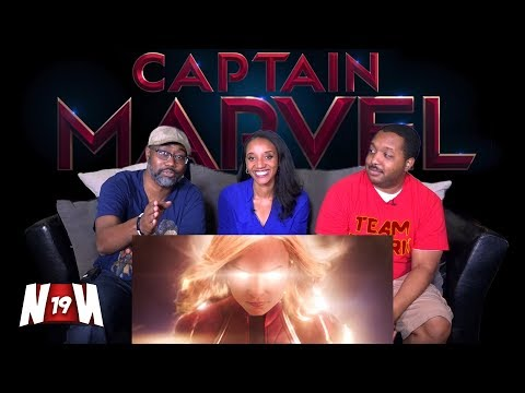 Nerds REACT to Marvel Studios' Captain Marvel Teaser Trailer!