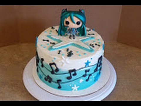 Cake Decorating Ideas Anime