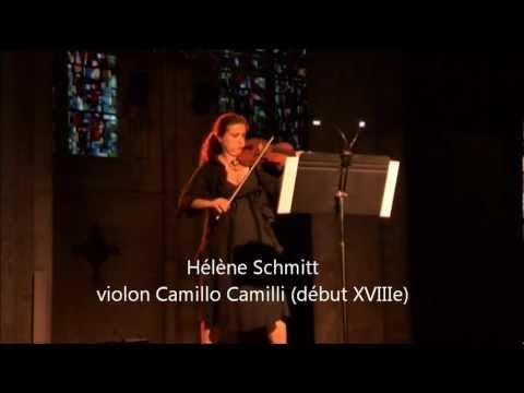 Hélène Schmitt interprète la Passacaille de Biber