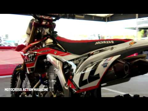 Inside the Pro's Bikes featuring Chad Reed/Lars Lindstrom -Motocross Action Magazine