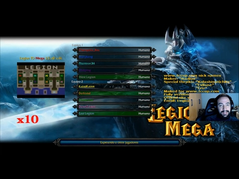 WARCRAFT III: The Frozen Throne | LEGION TD MEGA - NOS LA LIAN LOS SUSCRIPTORES - Gameplay Español