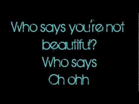 Who says christina grimmie lyrics