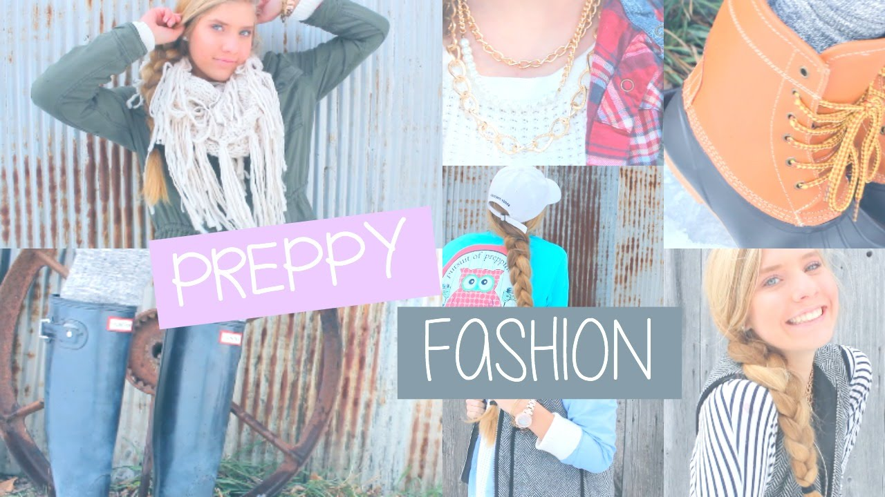 Tips For A Preppy Style!
