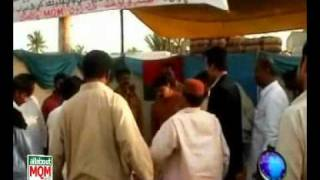 Membership Camps of MQM in Gharo, Thatta visited by MQM Leaders