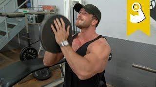 "Komplettes ""obere Brust"" Workout"