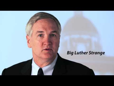Big Luther Strange Cleans Up Montgomery