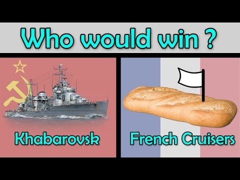 Can French Cruisers & Nerf stop the Khabarovsk menace ? - Jolly Roger Adv #7.25 (World of Warships)
