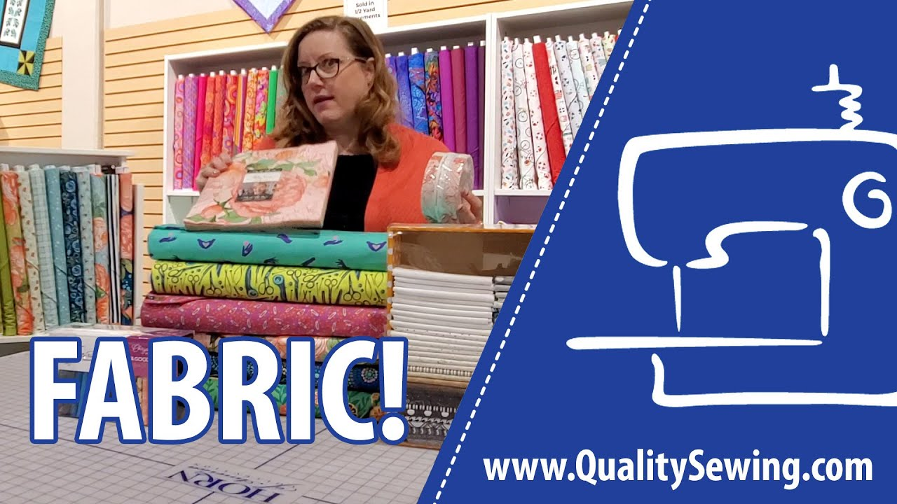 Quality Sewing Now Has Fabric!