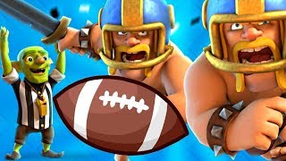 REAL TOUCHDOWN CHALLENGE! - Clash Royale