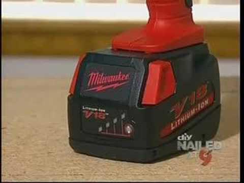 Milwaukee Tools Lithium Ion Drill on DIY Cool Tools